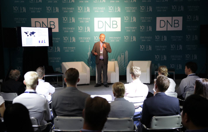 Dag Sletmo from DnB talks abuit Ocean Economy