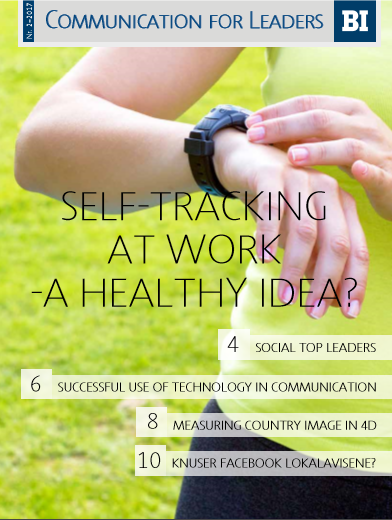 Self-Tracking At Work - A Healty Idea?