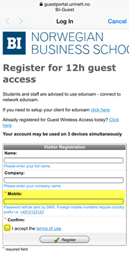 Network and access | BI